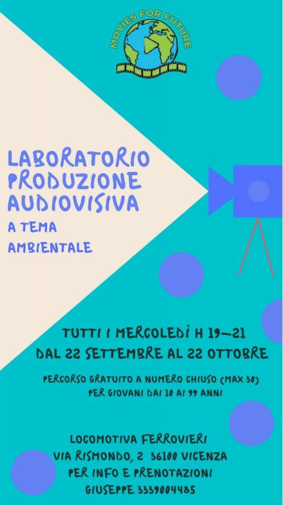 Laboratorio Produzione Audiovisiva a tema ambientale